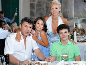 Борис Немцов, дети, жены