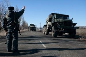 Басурин, ДНР, отвод вооружения, Минские договоренности, Донбасс, восток Украины, ВСу, армия Украины