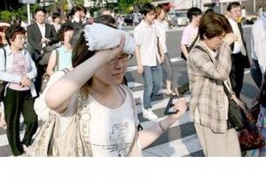 Япония, жара, Фокусима