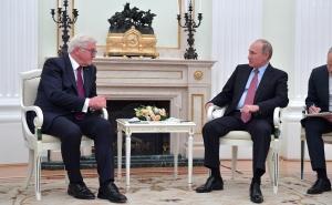 россия, германия, штайнмайер, путин, сша, санкции, украина
