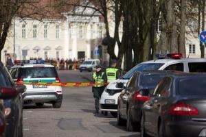 Литва, президент, угроза, мужчина, террорист, происшествия, план щит, полиция, криминал, взрыв