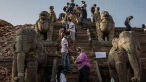 Непал, погибшие, землетрясение