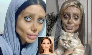 Сахар Табар, Иран, Анджелина Джоли, пластические операции, происшествие, красота