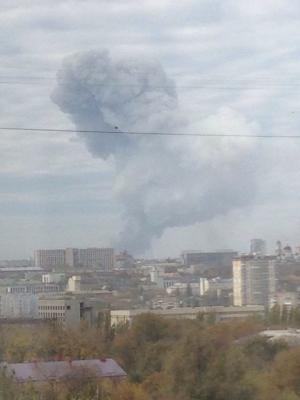 Украина, Донецк, ДНР, взрыв, Донецкая республика, Донбасс, АТО, Нацгвардия, армия Украины
