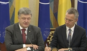 нато, украина, политика, петр порошенко, йенс столтенберг