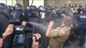 украина, киев, митинг, саакашвили, полиция, спецназ