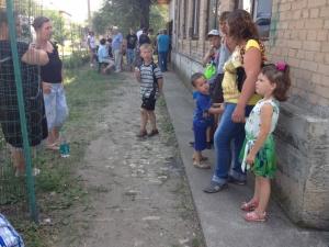 Горловка, эвакуация, волонтеры, Никитовка, АТО, 12 августа