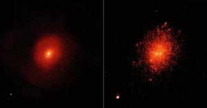 галактика, черная дыра, скопление звезд, большая медведица