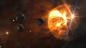 NASA , ядерное оружие, США, космос, Солнце, Земля, астероиды