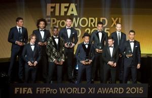 Месси, Роналдо, Неймар, Золотой мяч, футбол, спорт, новости спорта, новости футбола