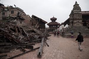 непал, лавина, полиция