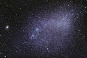 NASA, космос,США, галактика Магеллановы облака, вспышка, кадры, фото, Млечный Путь