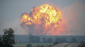 новости, Украина, Минобороны, военные склады, взрывы, пожар, подробности, ЧП