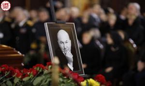 похороны, Лужков, Москва, Новодевичье, кладбище, Путин, Примаков.