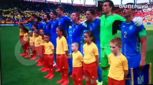 украина, футбол, чм, южная корея, победа, соцсети гимн