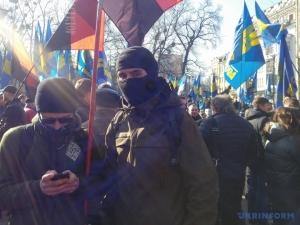 киев, марш националистов, московский патриархат, свобода, правый сектор, требования, власть, олигархи, новости украины