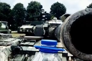 танк, всу, флешмоб, украина, оос, танк, Bottle Cap Challenge