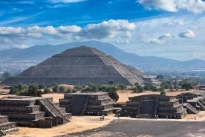 мексика, теотиуакан, лунная пирамида, ученые, обнаружили, туннель, загробный мир, вход