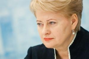 Даля Грибаускайте, Литва, Евросоюз, Россия, Украина, российская агрессия