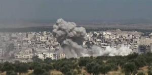 Турция, Идлиб, Сирия, бомбардировка, видео