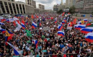 цветная революция, майдан, кровь, задержания, москва, протесты, выборы, россия, росгвардия, омон, трансляция