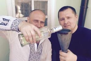 Ярош, поет, Пасха, политика, Украина, новости, общество, Правый сектор