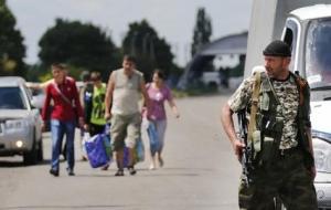 донбасс, донецк, луганск, юго-восток украины, переселнцы и беженцы, новости украины