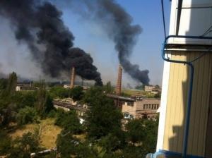 Горловка, АТО, ДНР, обстрел, 7 августа, Строитель