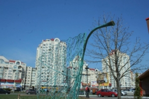 Киев, Украина, скульптура, экология