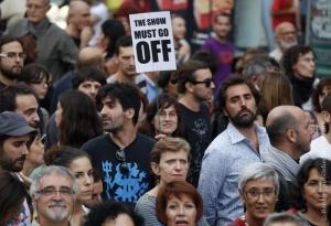 испания, авторитаризм, митинг, валенсия, мадрид, каталония