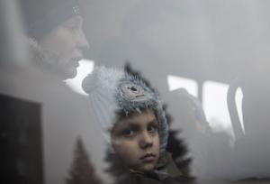 дебальцево, эвакуация, славянск, всу, дети