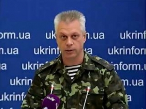 Андрей Лысенко, СНБО, обстрелы, перемирие