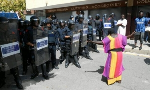 испания, каталония, новости, полиция, беспорядки, общество, мигранты, африканцы, митинг