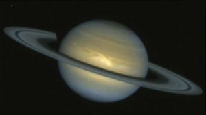 космос, Сатурн, астрономия