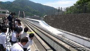 Япония, поезд, техника, общество