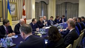Порошенко, Украина, политика, общество, канада, встреча