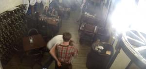 сергей захарченко, драка, дебош, донецк, происшествия, видео, украина