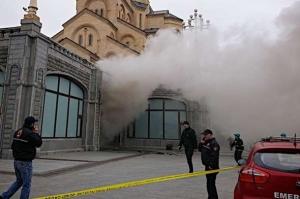 пожар, происшествия, храм, православные, Тбилиси, Грузия