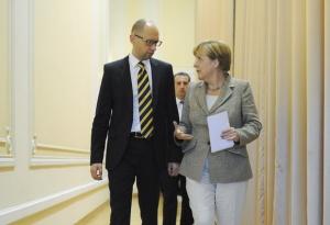 Яценюк, Меркель, германия, энергетика, концерны