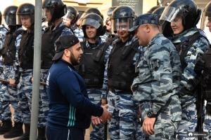москва, мусульмане, полиция, омон, акция протеста