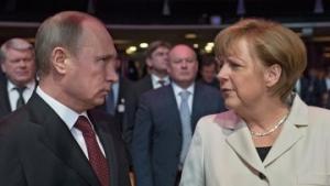 Запад, Меркель, встреча, агрессия, Путин