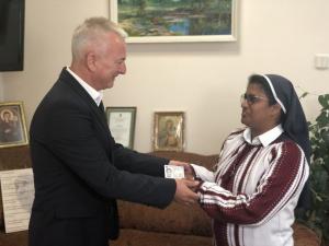 Зеленский, гражданство, монахиня, Пайяппилли Варид Лиджа, миграционная служба