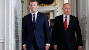 франция, россия, ес, макрон, путин, северный поток - 2, еврокомиссия, газовая директива, газ, трубопроводы, законодательство, изменение, поддержка