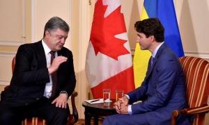 украина, канада, трюдо, порошенко, россия, ато, миротворцы, донбасс, агрессия