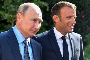 Россия, политика, путин, франция, встреча, макрон, G8