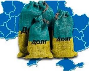 внешний долг, украина, рост