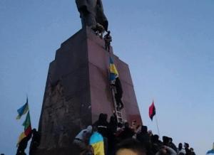 харьков, происшествия, памятник ленину, юго-восток украины, драка
