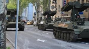 донецк, ато, днр. восток украины, происшествия, общество, парад победы, 9 мая