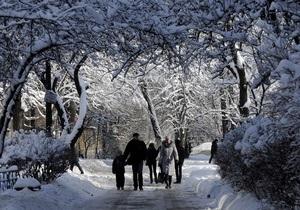 киев, снег, погода в киеве, новости украины, общество, гидрометцентр