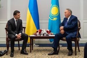 Украина, политика, япония, казахстан, зеленский, назарбаев, переговоры, донбасс, крым
